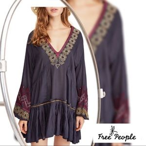 🆕 {Free People} Wild One Embroidered dress XS
